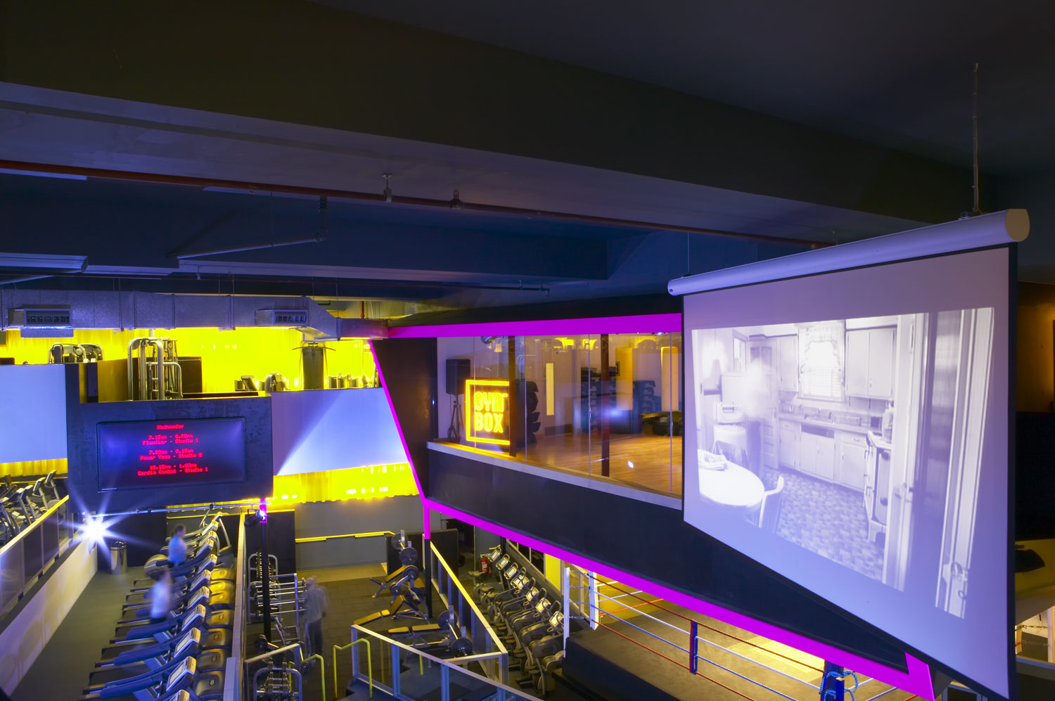 Gymbox Covent Garden | Interiors Photographers