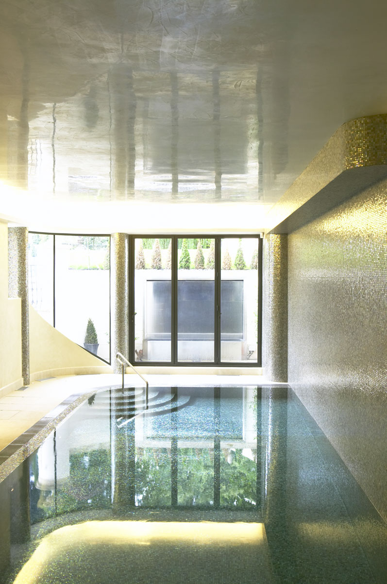 Whitestone House basement pool | Residential Photographer UK