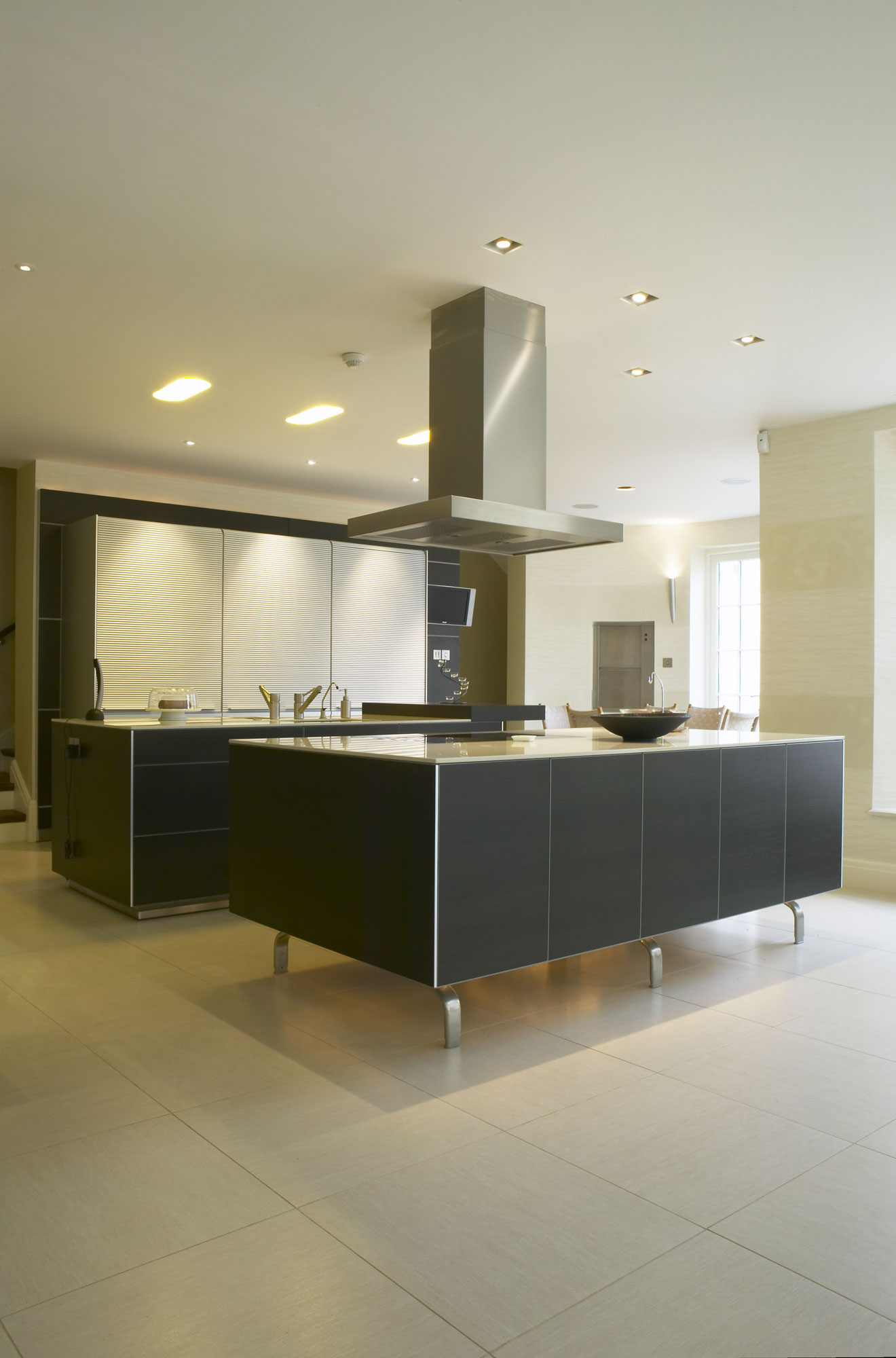 Whitestone House basement kitchen | Residential Photographer UK