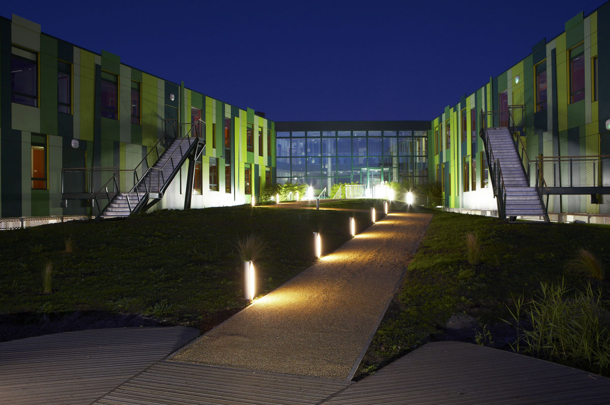 No. 1 Nottingham Science Park at dusk | Architectural Photography London