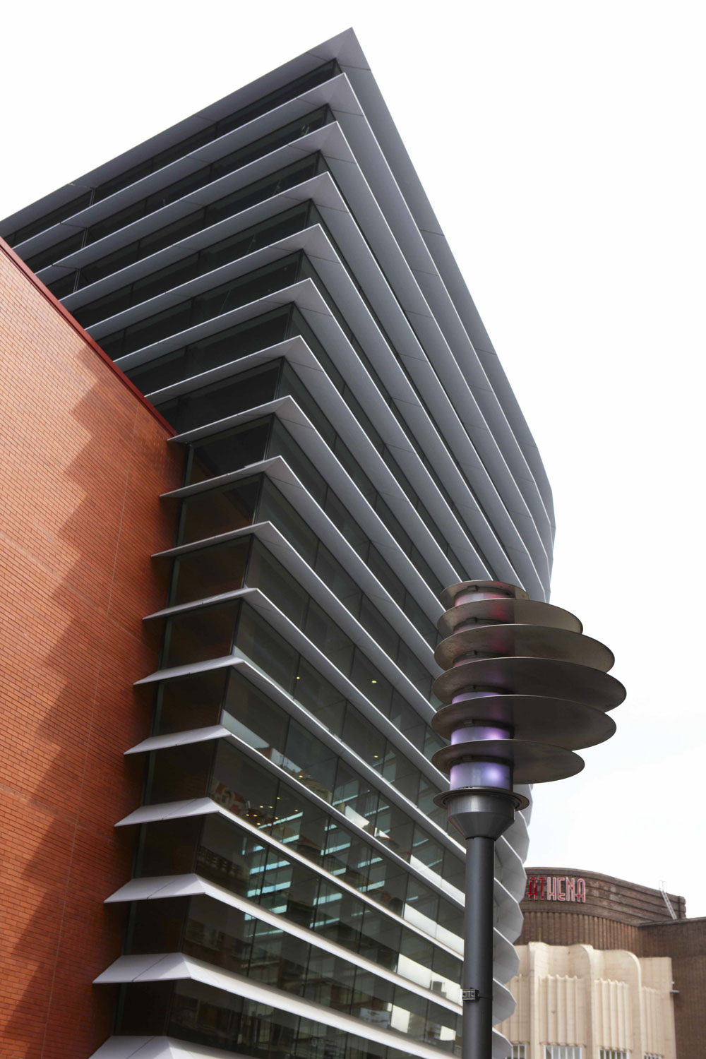Curve Theatre Exterior, Leicester | Interior & Architecture Photographer London