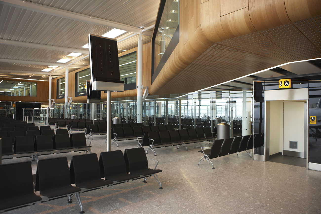 Heathrow Airport Terminal 2 seating area | Commercial Photographer | Commercial Photographers