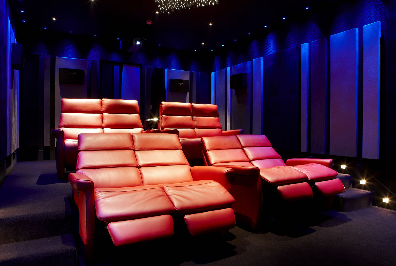 Private Residence Cinema Room, Northwood, London | London Residential Photographers