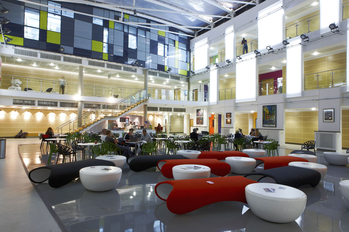 The Grove Atrium, Middlesex University | Interior Photographer
