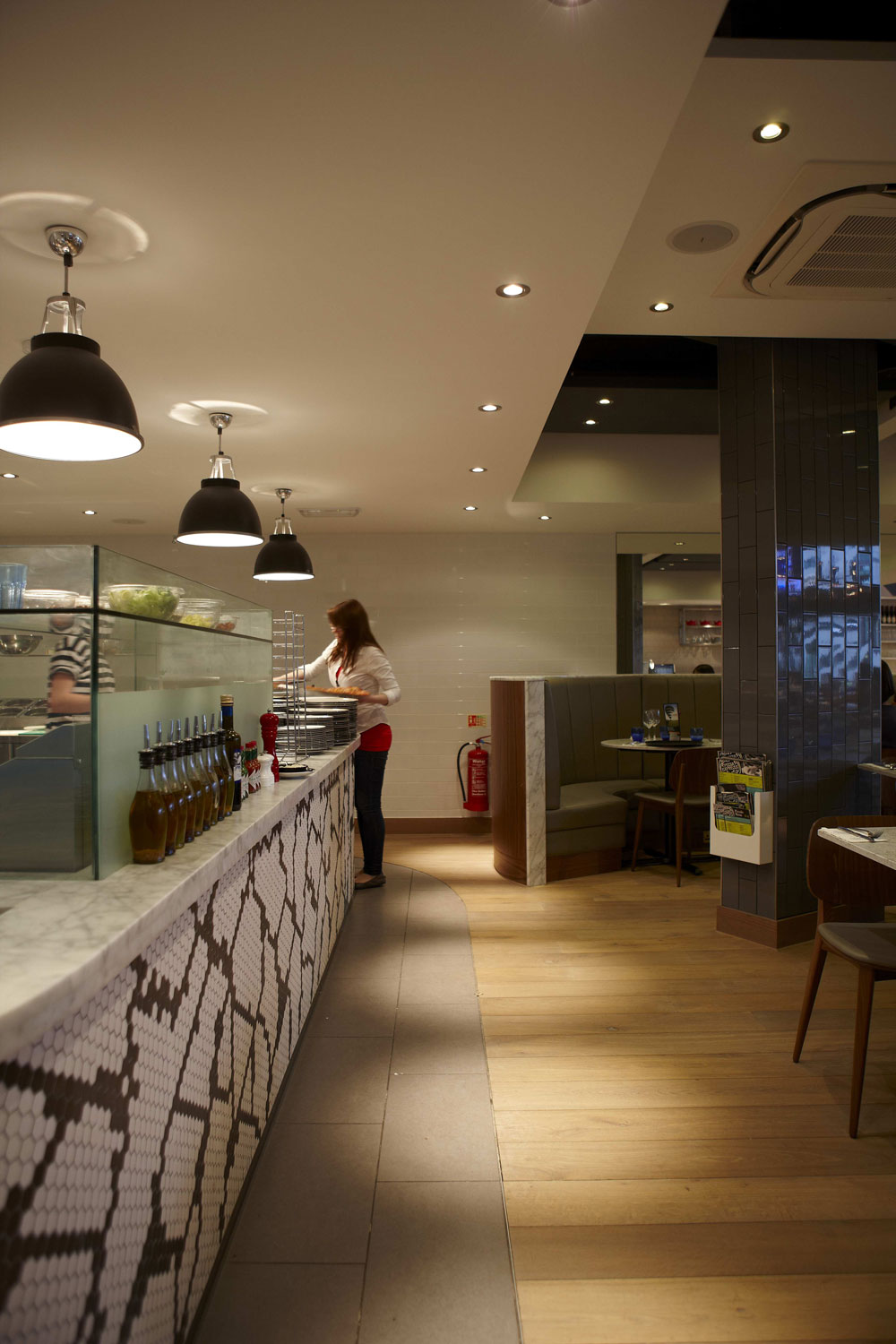 Pizza Express, St Pauls Place, Sheffield | Restaurant Photographers London