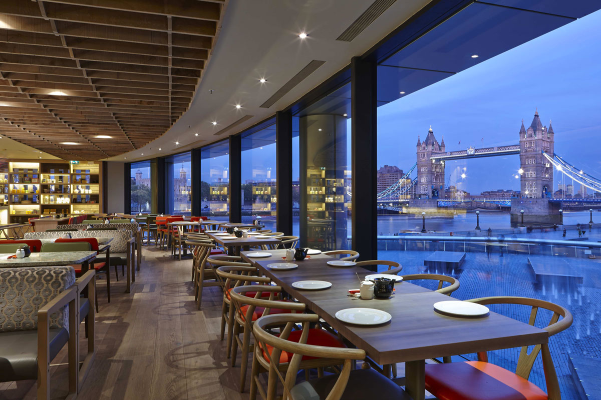 Dimt Restaurant London Bridge | Interior Photographer