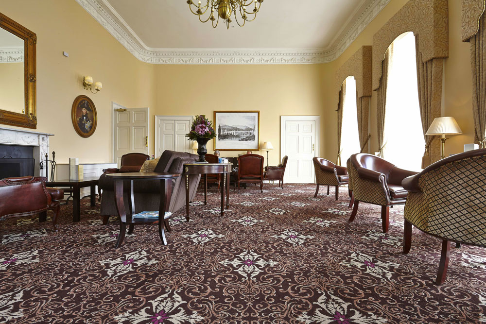Bailbrook House Hotel Lounge, Bath | Interior Hotel Photography