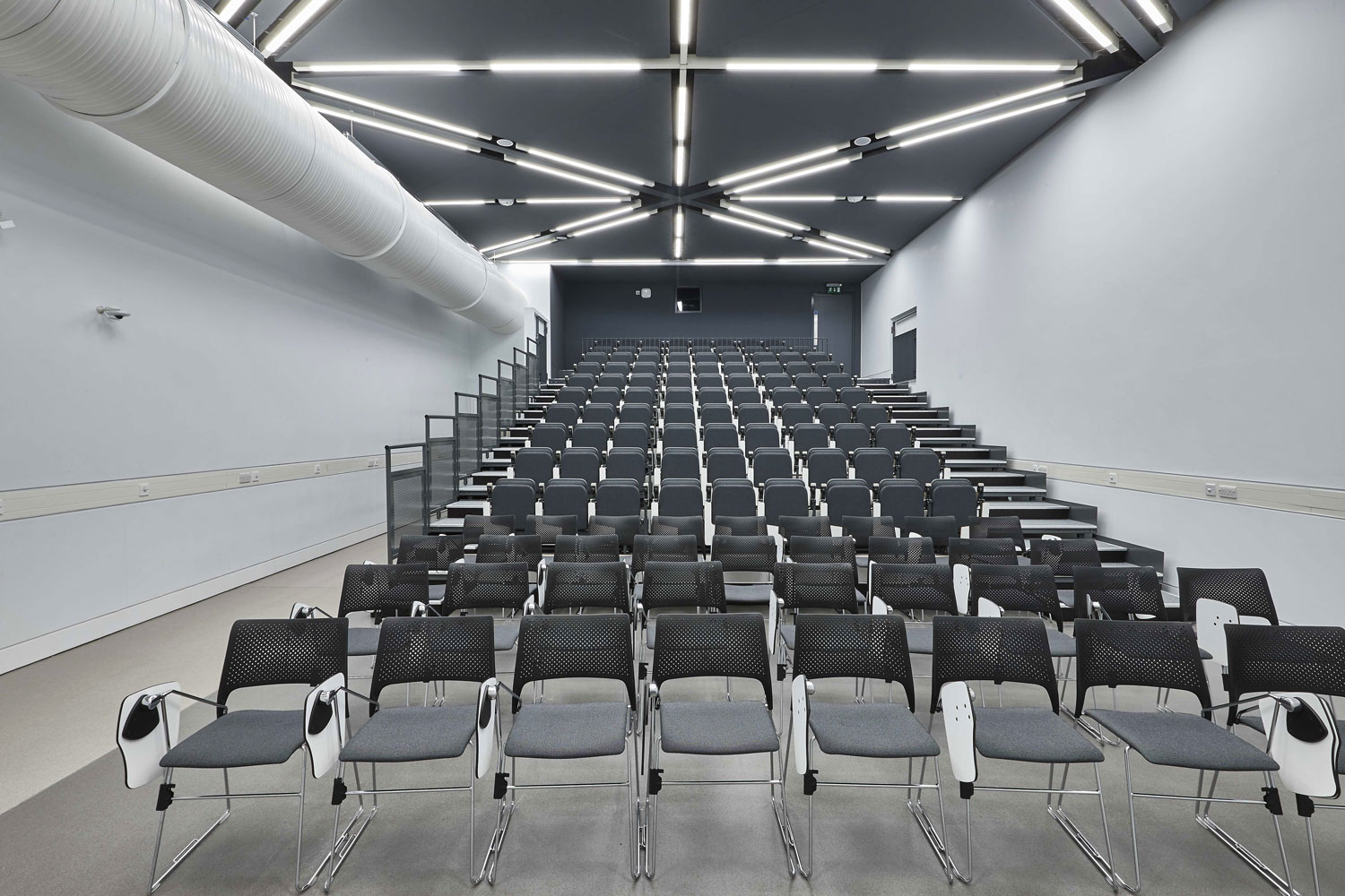 School of Art Lecture Theatre, Southampton University, Winchester | Architectural Installation Photography