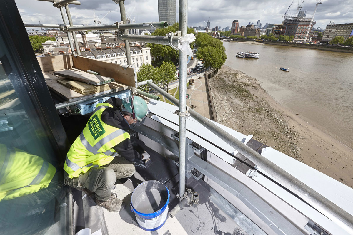 Riverwalk Apartments, Westminster, SW1 | Construction Photographer London