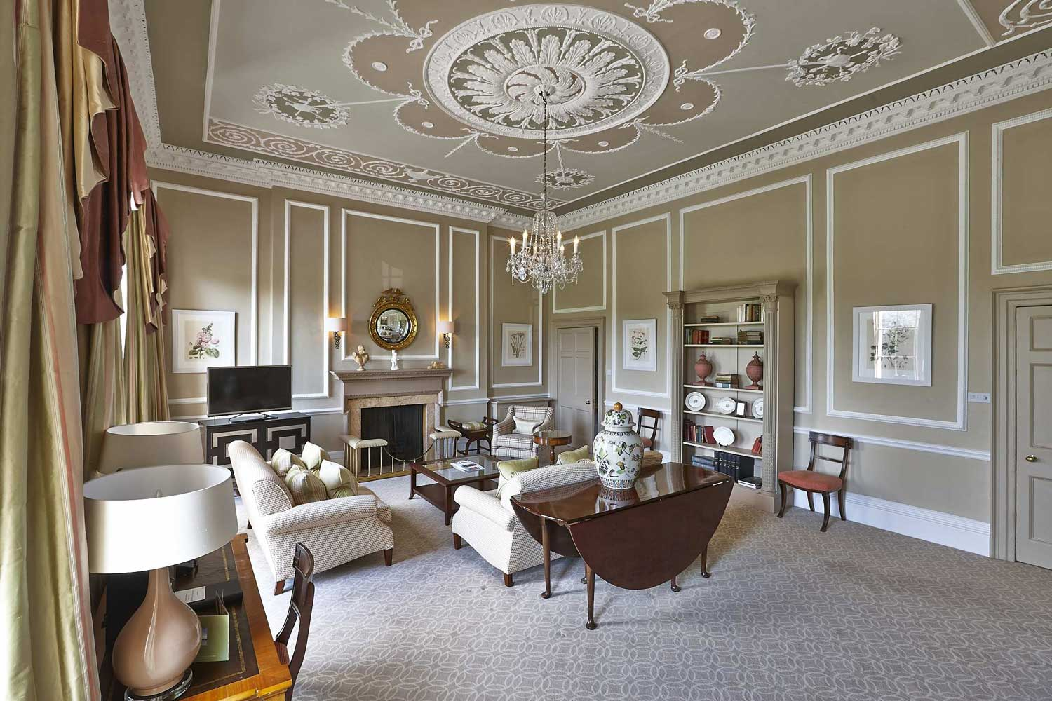 Royal Crescent Hotel suite living area