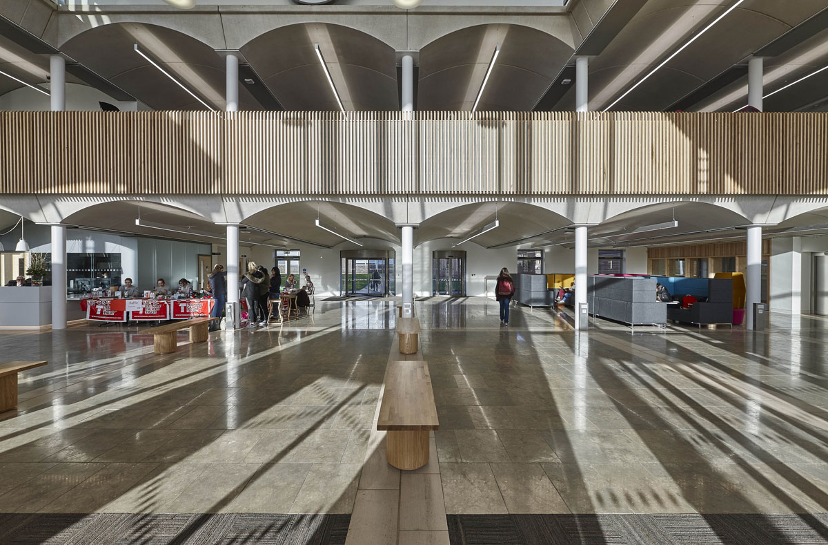 Nottingham Trent University Pavilion Mezzanine | Architectural Photographer London