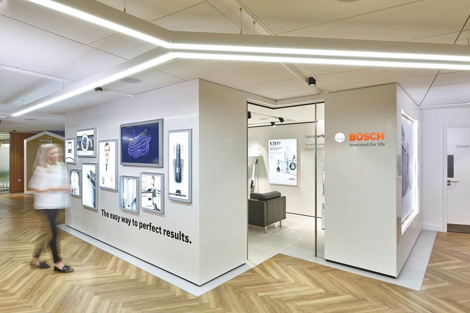 Bosch Product Display Showroom Area Milton Keynes | London Interior Photographers