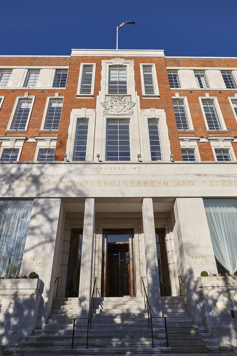 Institute of Engineering & Technology Frontage | Commercial Photographer London