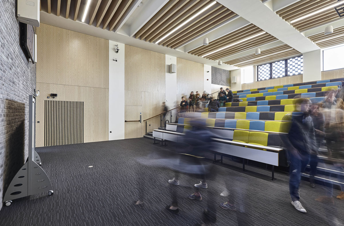 Nottingham Trent University Teaching Block Lecture Theatre | Architectural Photography UK