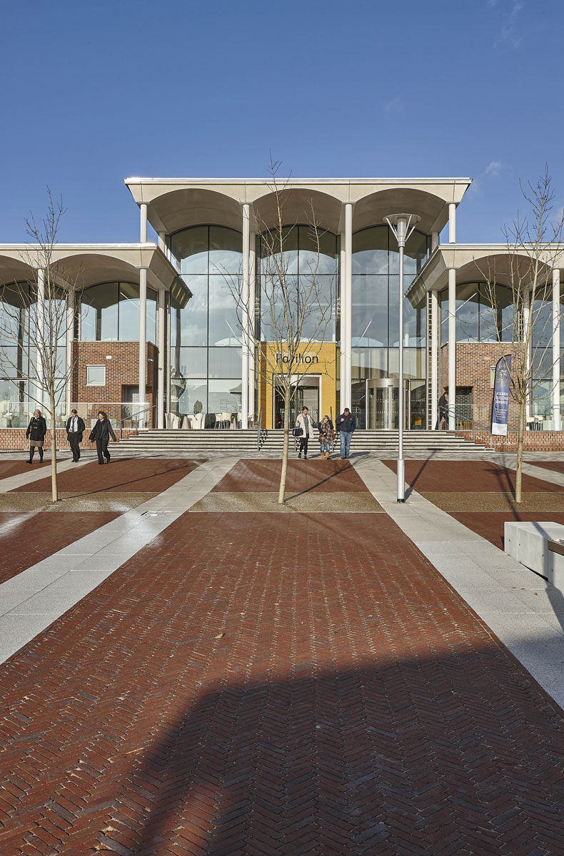 Nottingham Trent University Pavilion & Plaza | Architectural Photography UK