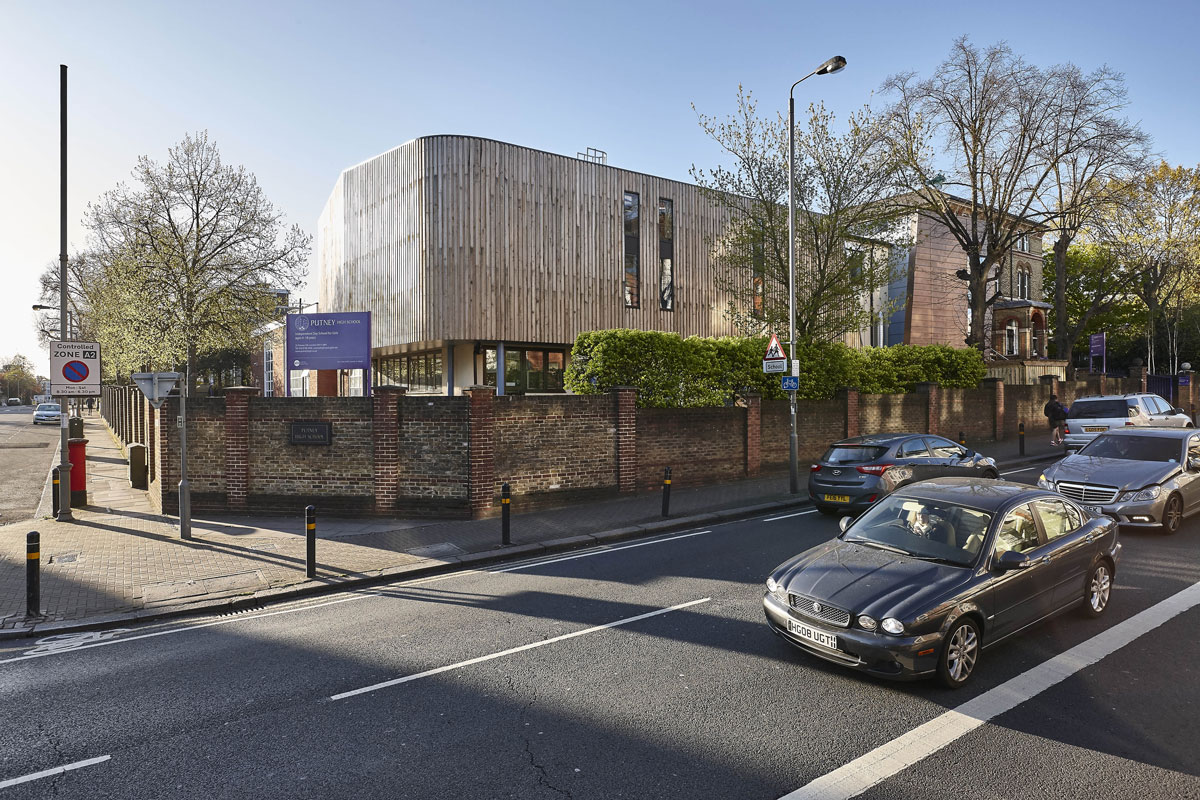Putney High School Performing Centre Exterior | Interior Photographer | Architectural Photographer