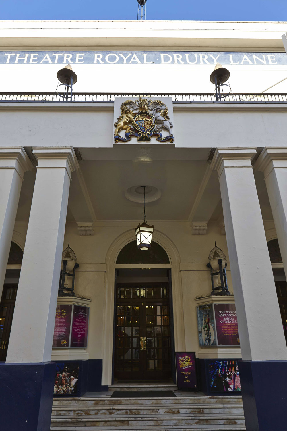 Theatre Royal Entrance, Drury Lane London | London Interior Photography | Commercial Interiors Photographers