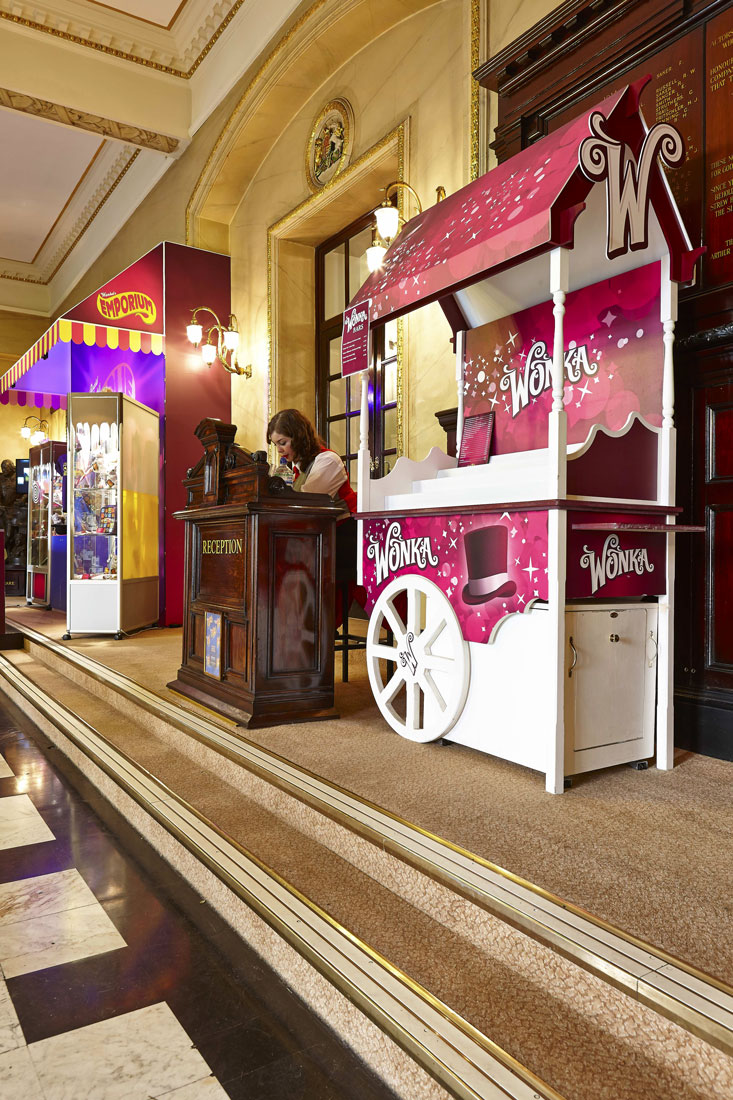Theatre Royal Foyer, Willy Wonka, Drury Lane London | London Interior Photography | Commercial Interiors Photographers