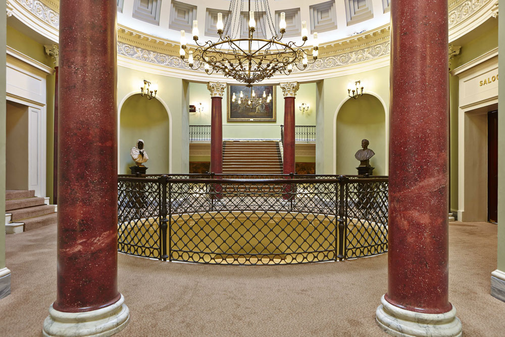 Theatre Royal Drury Lane London, Rotunda Balcony 1825 | London Interior Photography | Commercial Interiors Photographers