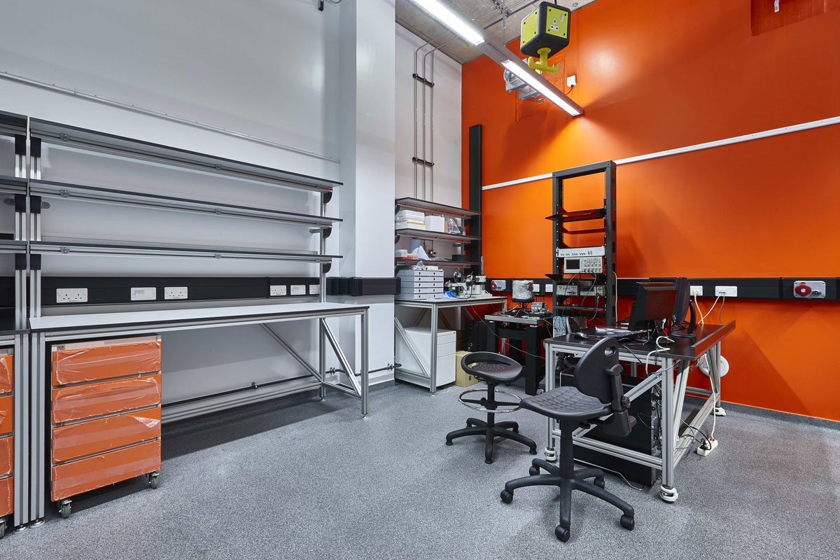 National Graphene Institute Laboratory, Manchester | Architectural Photographer | Commercial Photography