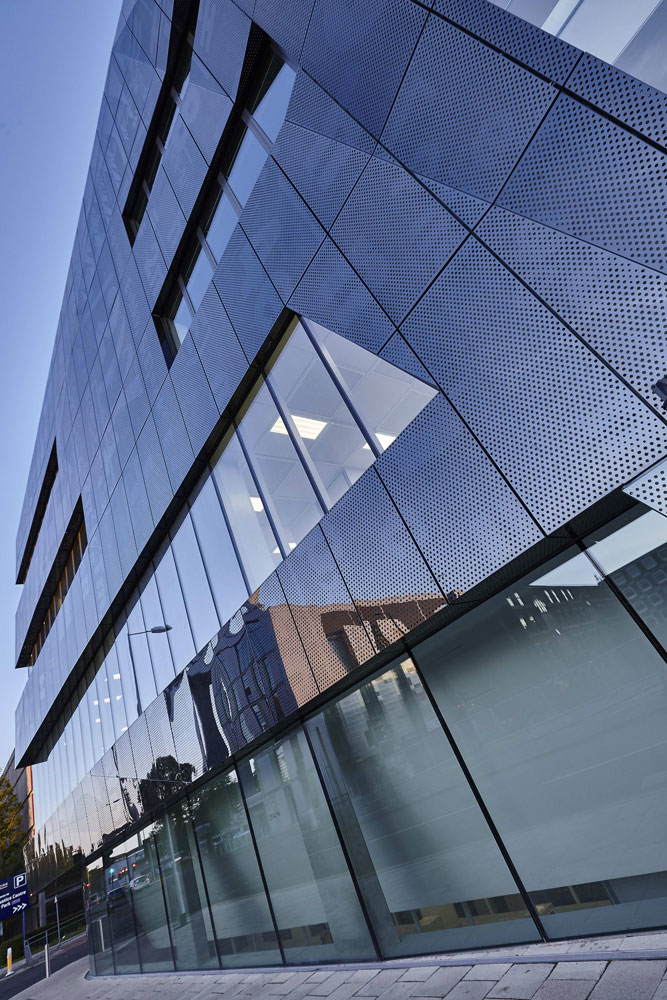 National Graphene Institute Frontage, Manchester | Architectural Photographer | Commercial Photography