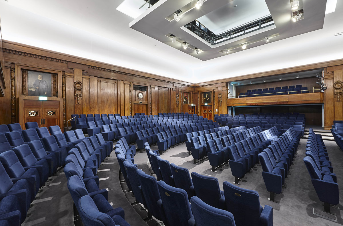 Institute of Engineering and Technology Kelvin Lecture Theatre | Commercial Photographer London