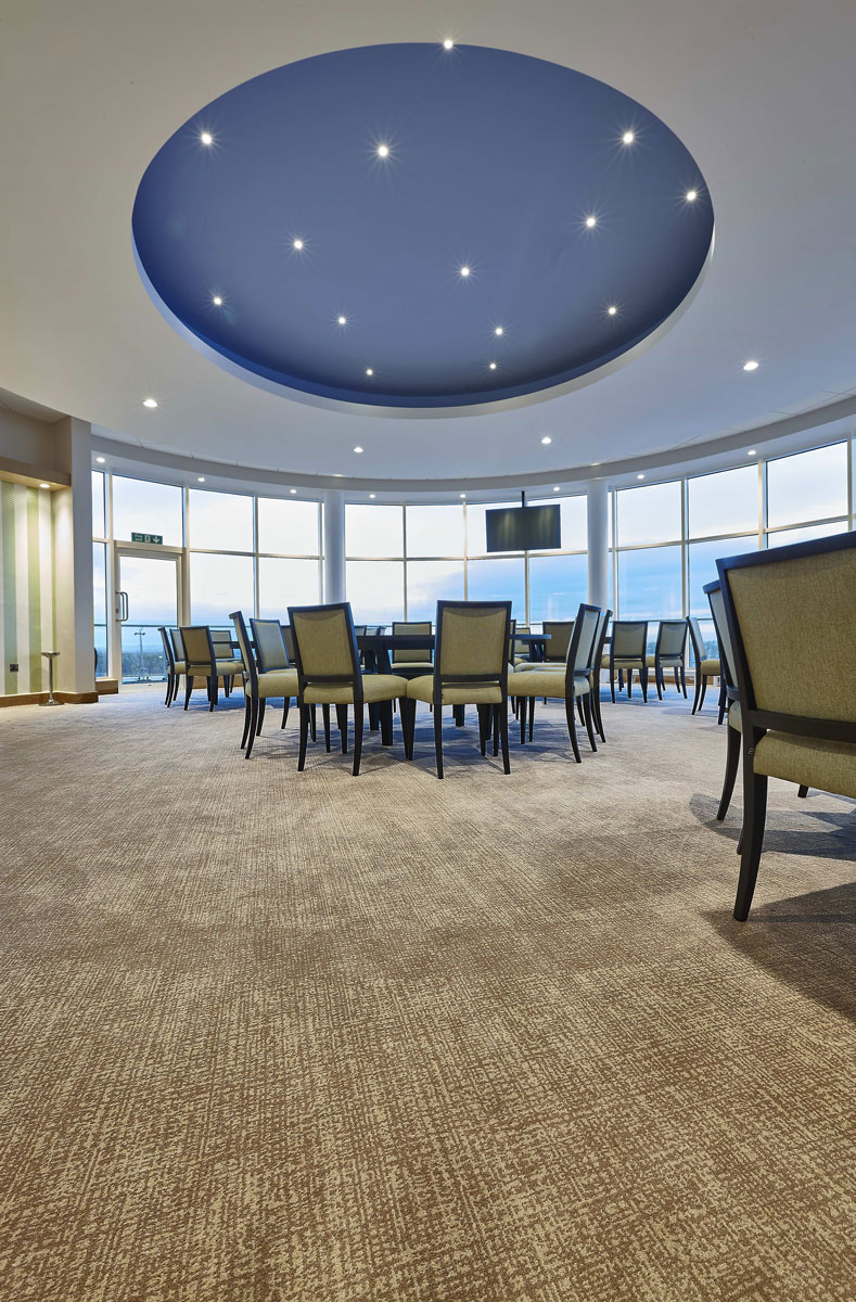 Cheltenham Racecourse Royal Box Dining Area | Interior Architecture Photographer