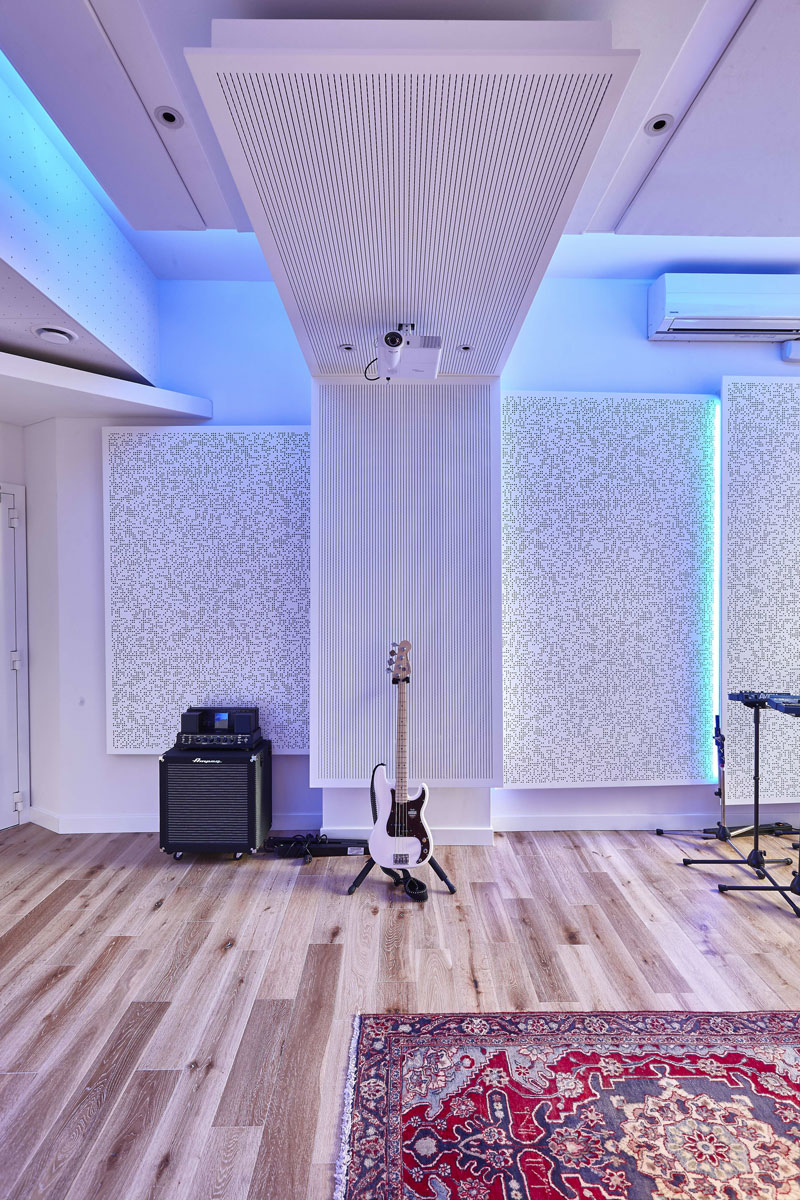 Studio 2, The Church Recording Studio |Interiors Photography