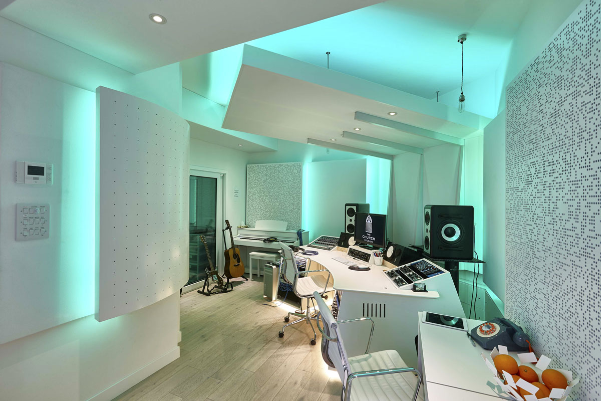 Studio 3 Writing space, The Church Recording Studio | Interior Photography London