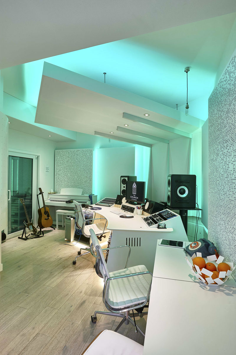 Studio 3 Writing space, The Church Recording Studio |Interiors Photography