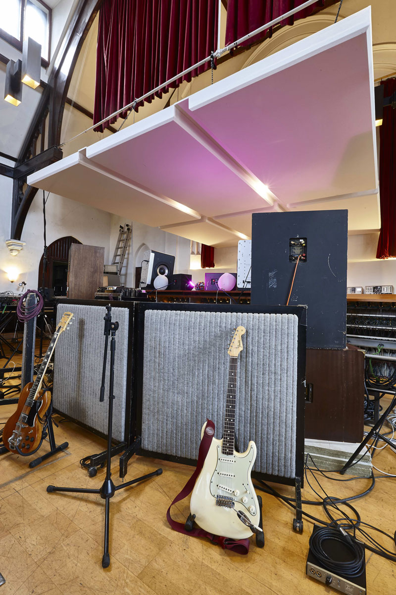 Studio 1, The Church Recording Studio, formerly owned by Dave Stewart of the Eurythmics | Interior Photography London