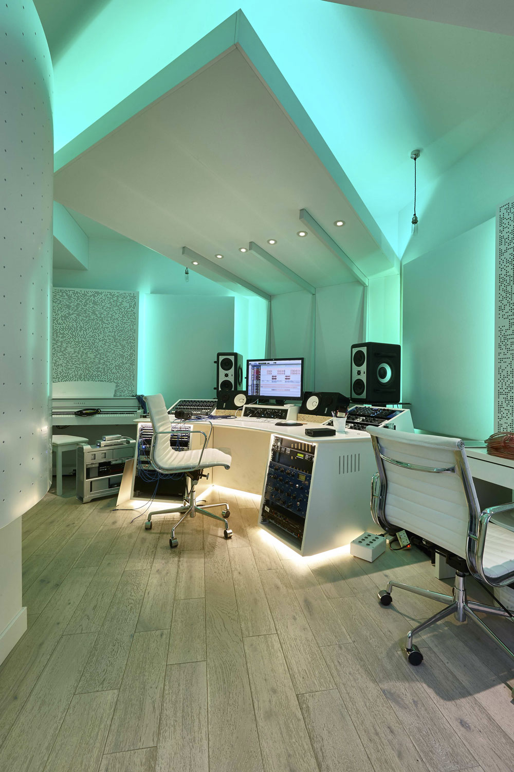Studio 3, The Church Recording Studio, formerly owned by Dave Stewart of the Eurythmics | Interior Photographer