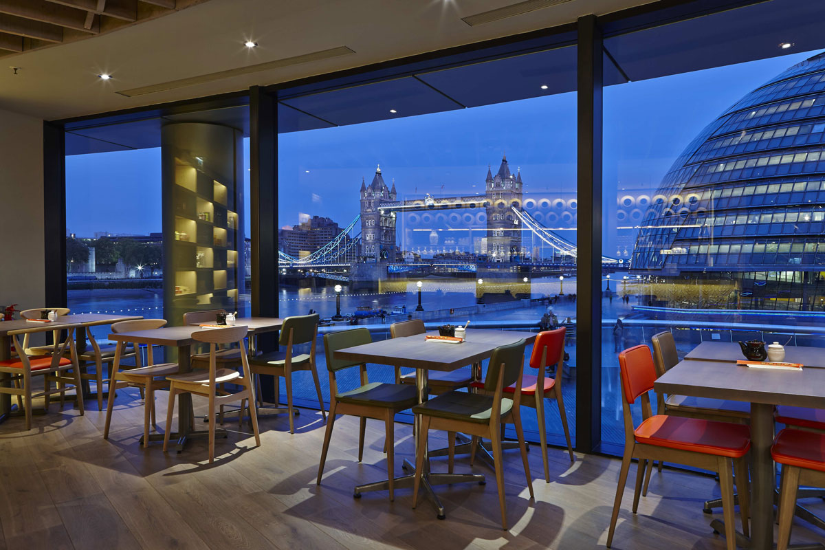 Dimt Restaurant London Bridge | Restaurant Photography