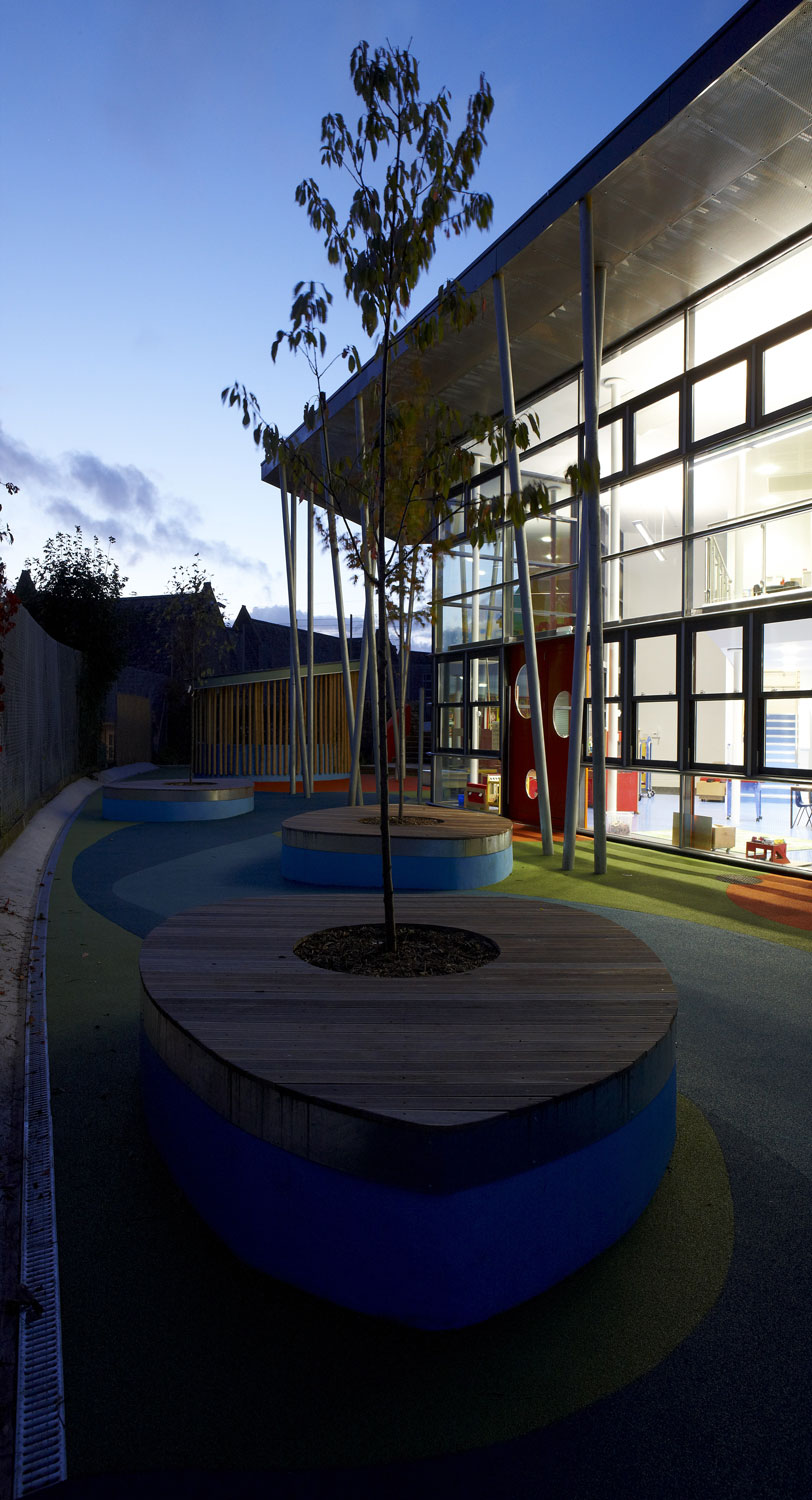 Ellacombe School Torquay at Dusk | Interior Architectural Photography