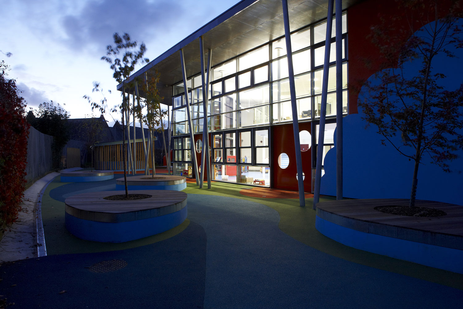 Ellacombe School Torquay at Play | Architectural Photographers UK