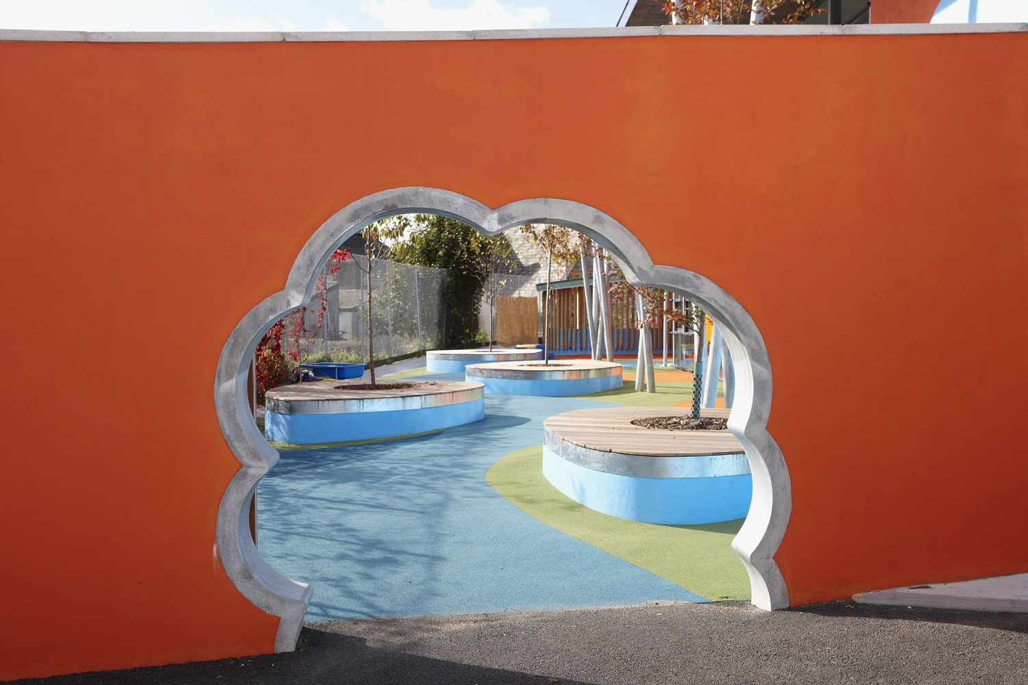 Ellacombe School Torquay School Gate | Architectural Photographers UK