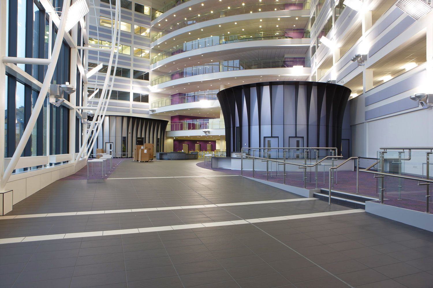 Sandwell College Atrium, West Bromwich, Birmingham | Interior Exterior Photography | Building Photography