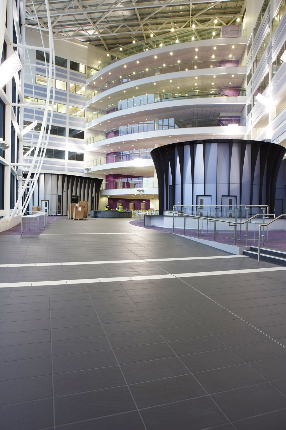 Sandwell College Atrium, West Bromwich, Birmingham | Architectural Installation Photography