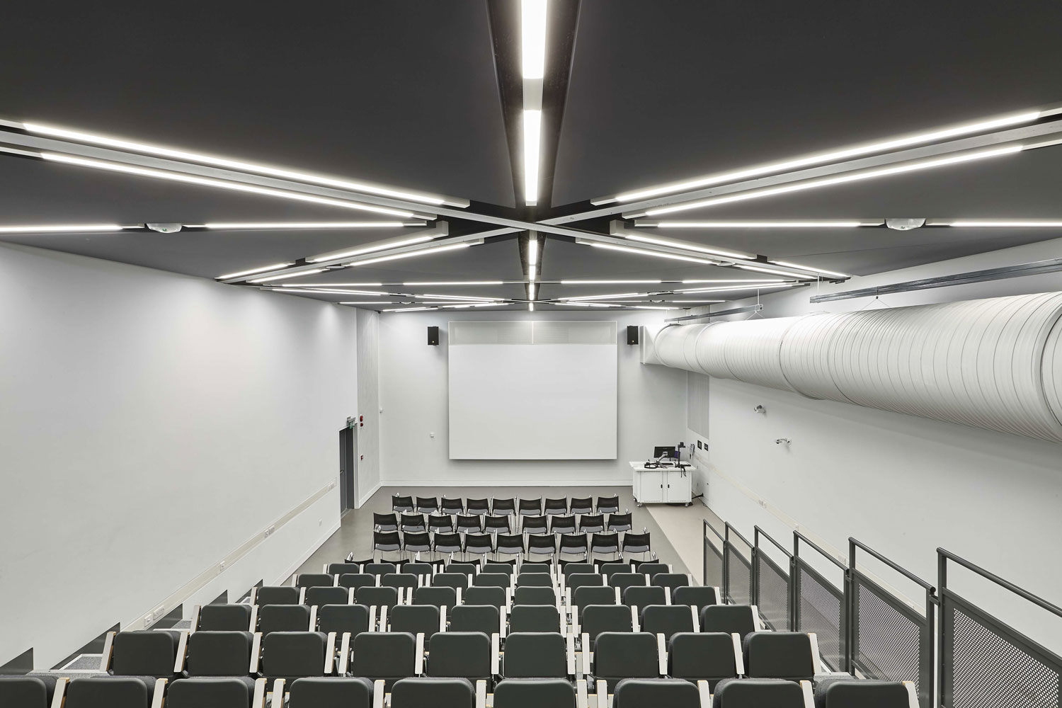School of Art Lecture Theatre, Southampton University, Winchester   Construction Installation Photography   Interior Photography