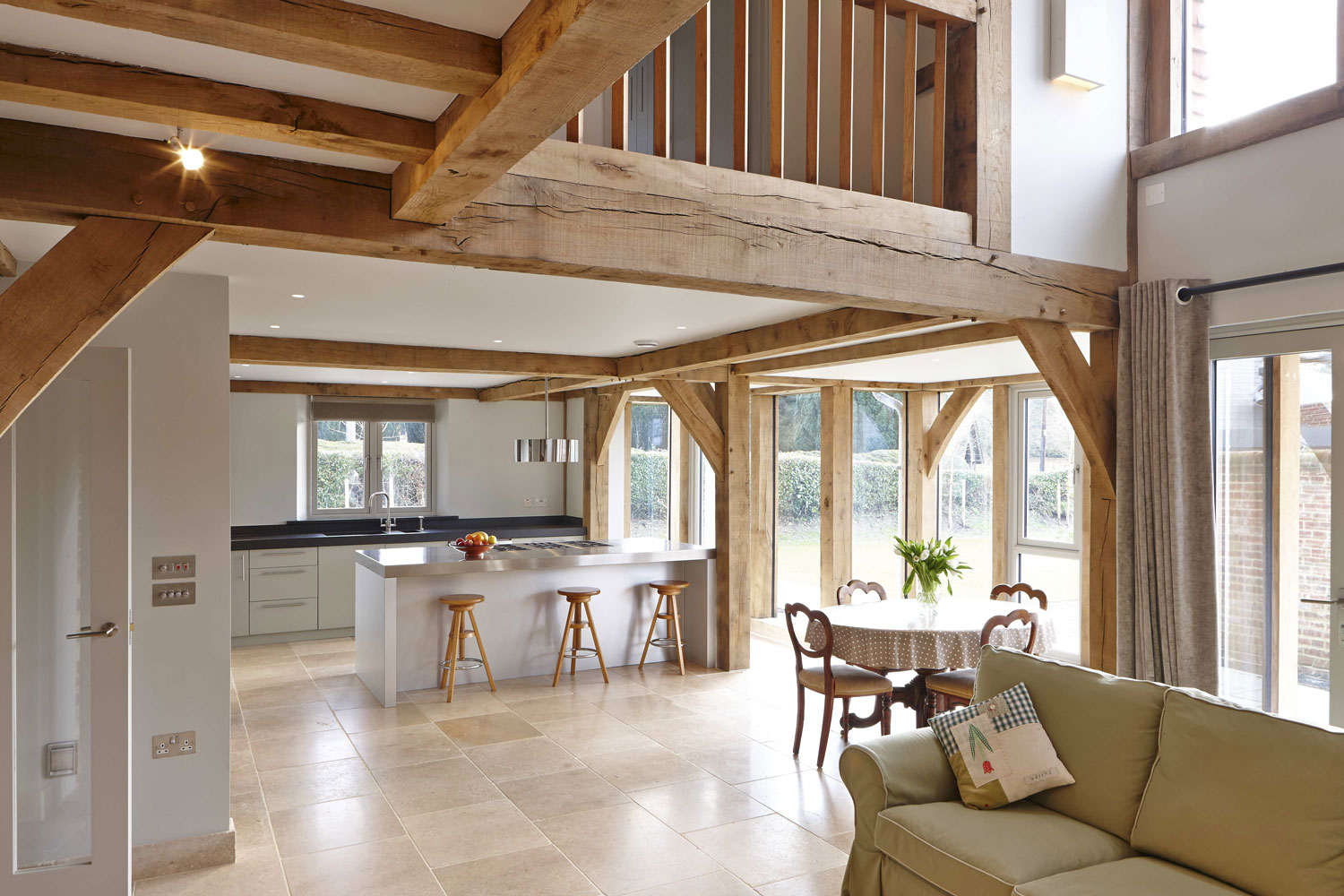 Stable Cottage - Green Oak Timber Frame Home, Liss | Residential Photographer