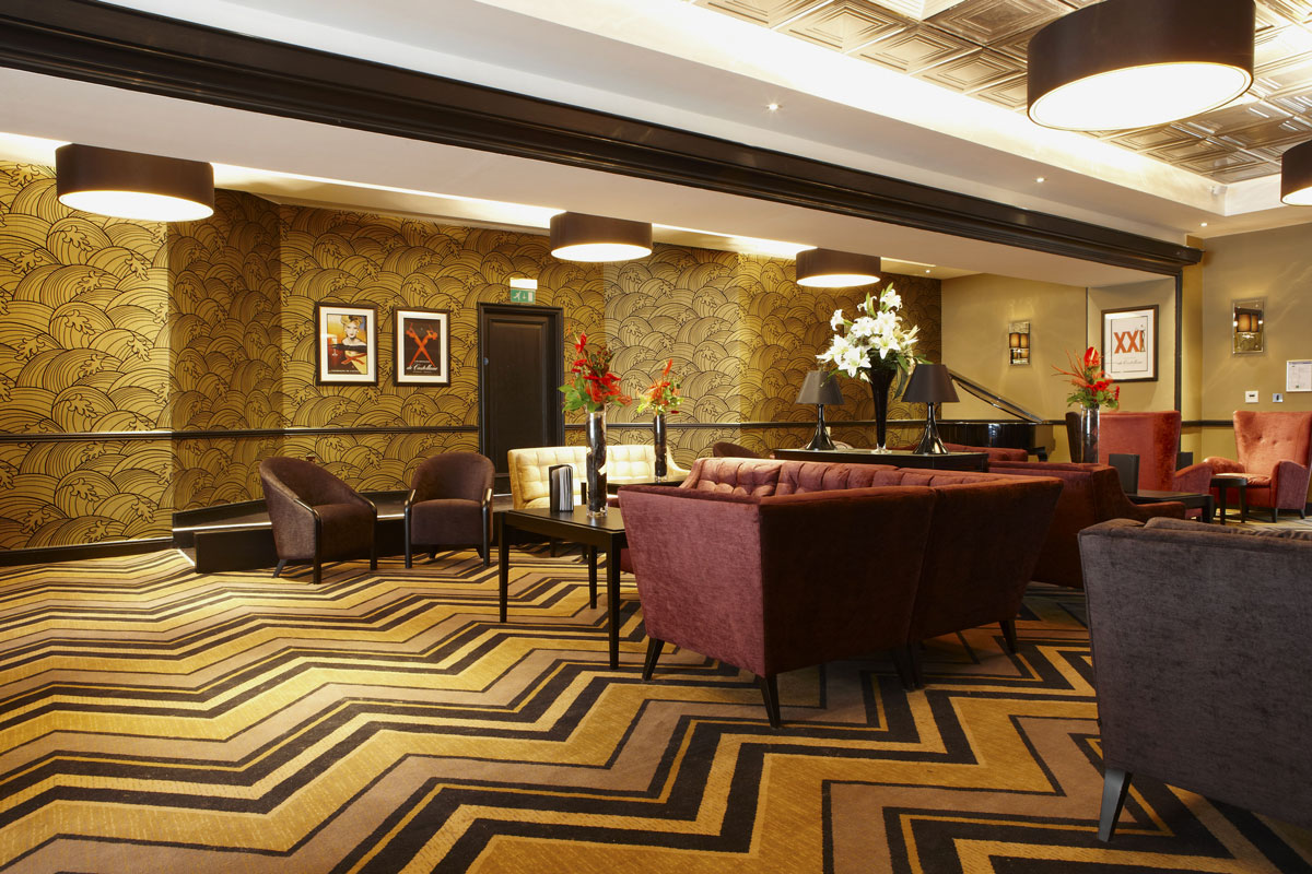 Grand Central Hotel bar, Glasgow | Hotel Photography | Commercial Hotel Photographer