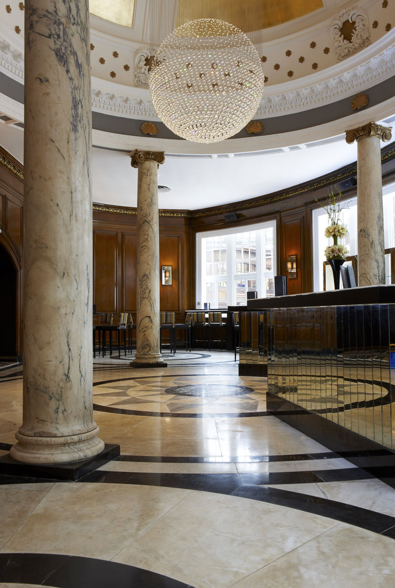 Grand Central Hotel Foyer, Glasgow | Hotel Photography | Commercial Hotel Photographer