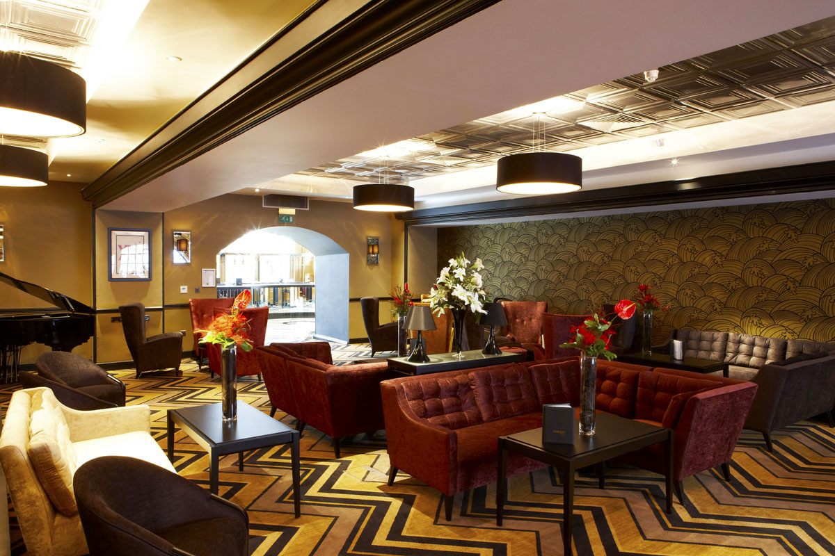Grand Central Hotel bar, Glasgow | Hotel Photographer
