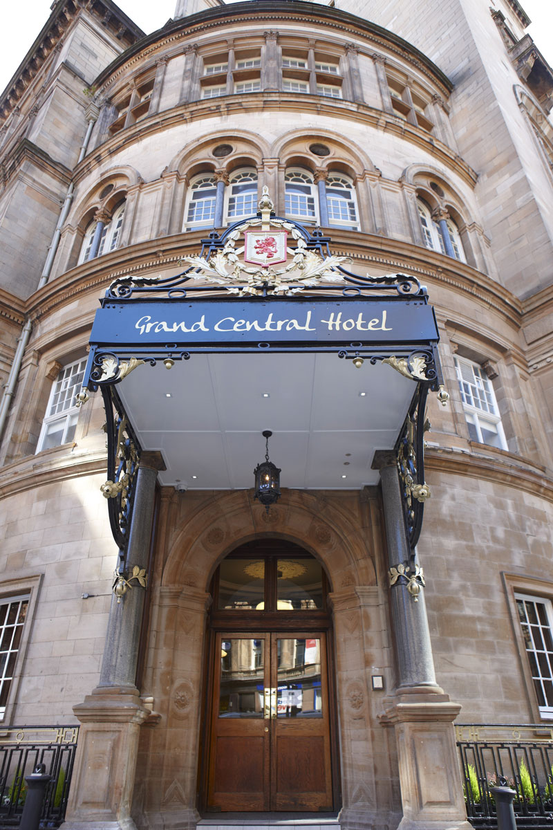 Grand Central Hotel Main Entrance, Glasgow | Hotel Photography | Commercial Hotel Photographer