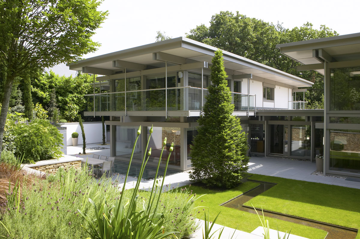 Huf Haus Home in Weybridge, Surrey | Residential Photographer UK | Architectural Photographer Berkshire