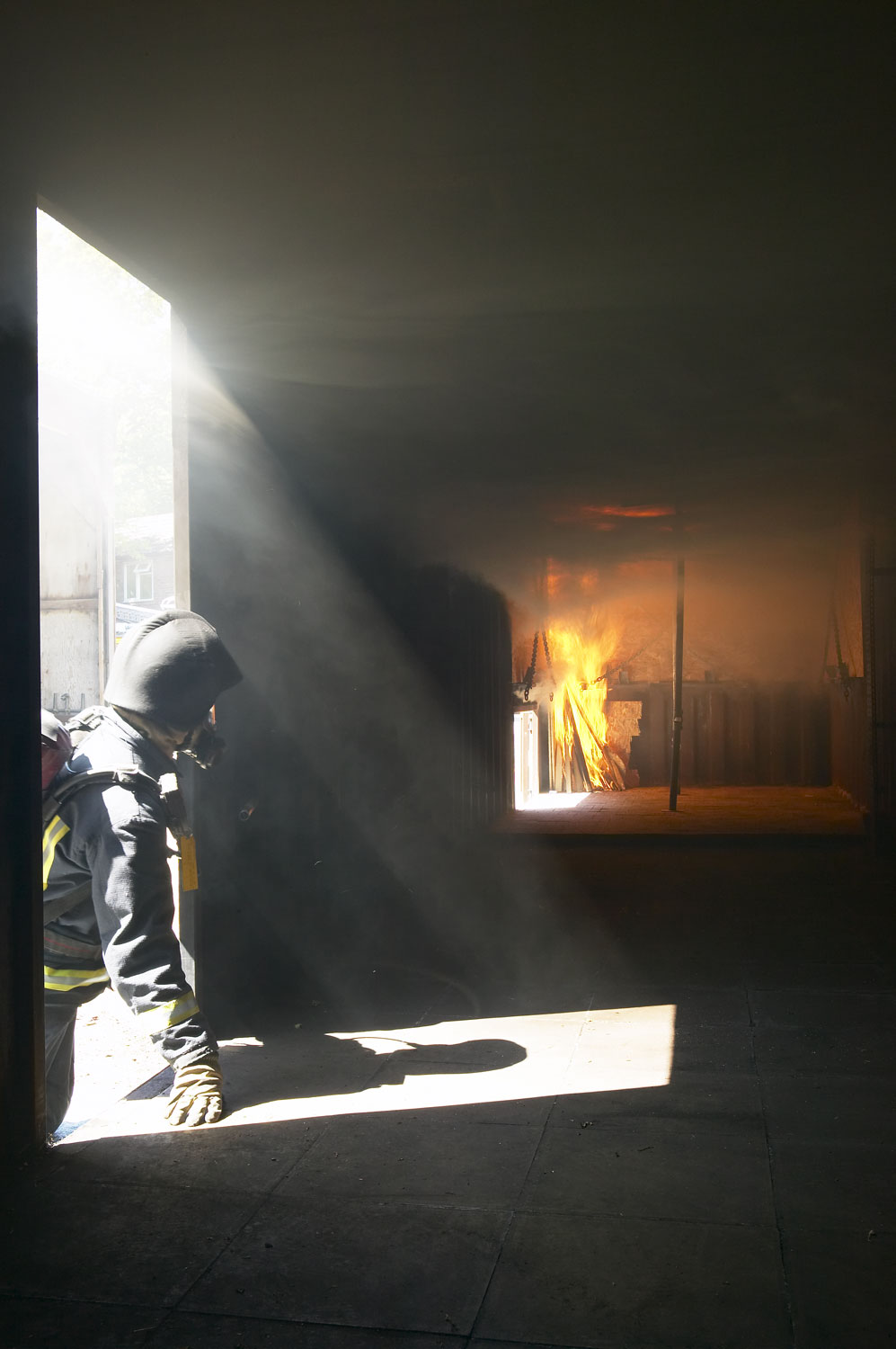 Buckinghamshire Fire Service firebox training | Commercial Photographers UK | Commercial Photographer