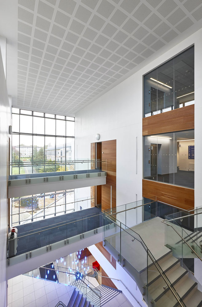 Bath University New 10 West Psychology Building Atrium | Commercial Buildings Photographer London