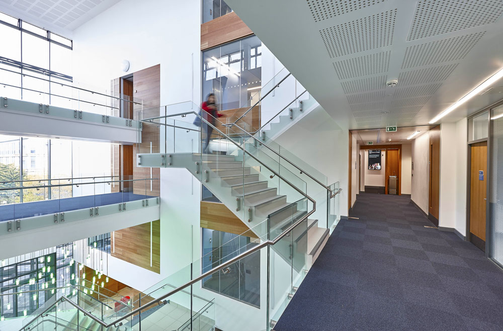 Interior Photography of 10 West, New Psychology Faculty Building, Bath University