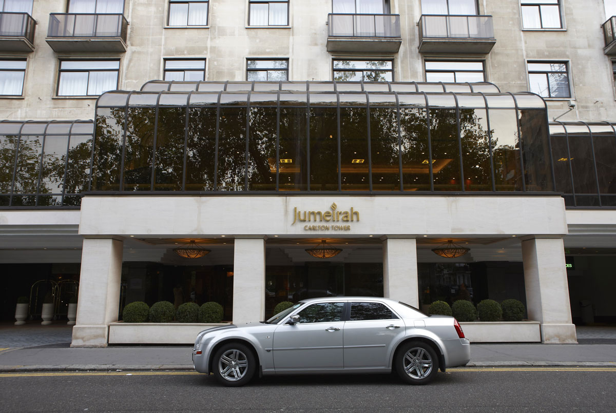 Jumeirah Carlton Tower Hotel, London | Commercial Hotel Photographer