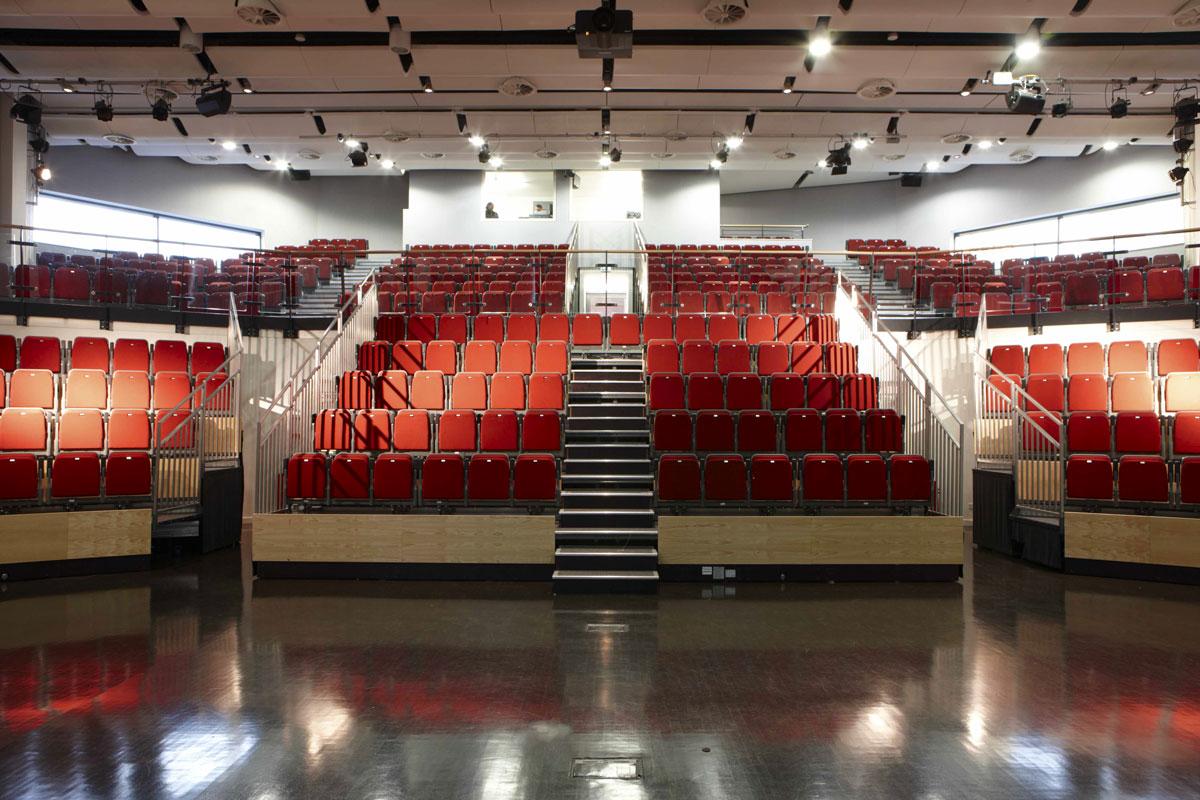 Bridge Academy creative performance hall, Hackney | London Architecture Photographer